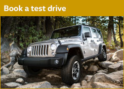 Book a Test Drive at John William's Jeep